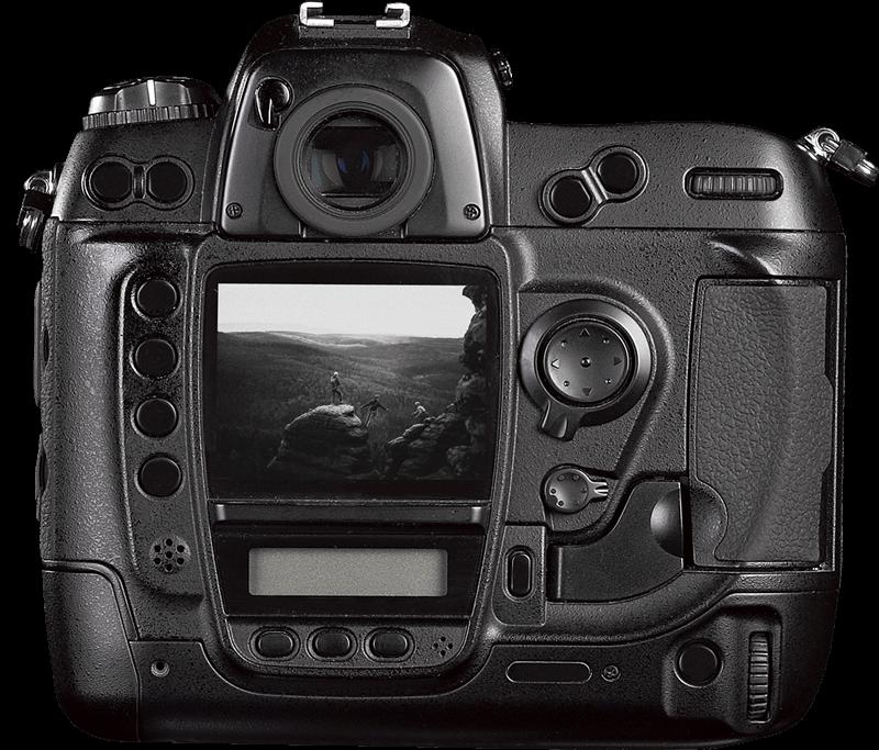 Content Creation Agentur aus Berlin zeigt eine Kamera