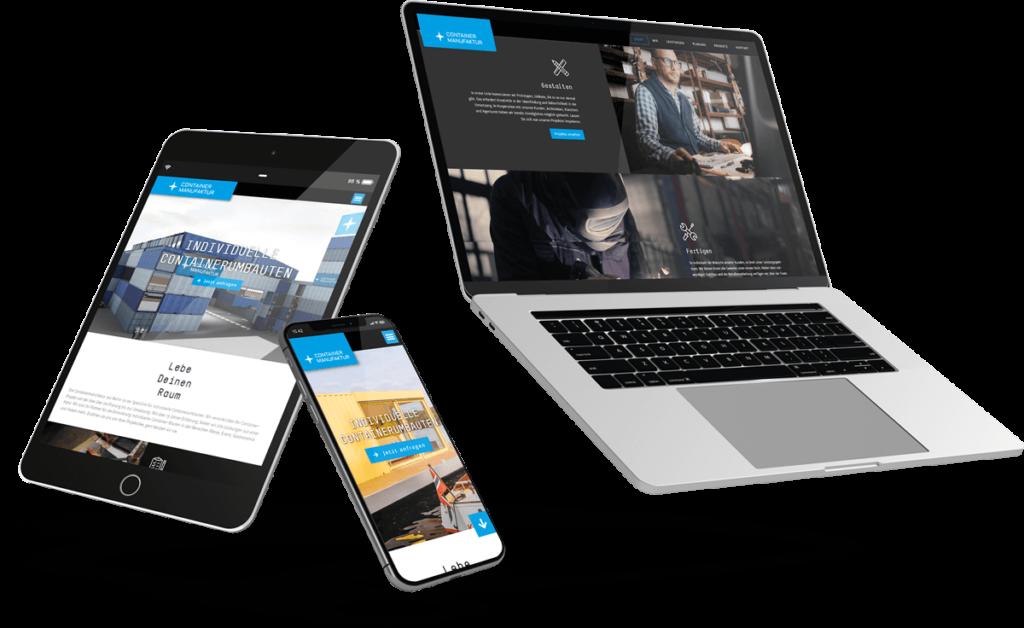 Webdesign Agentur Berlin: Webseiten auf verschiedenen Geräten